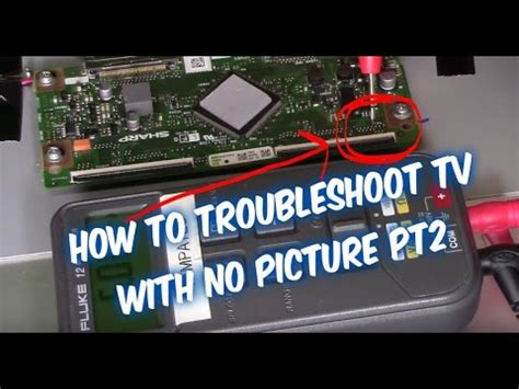 My Samsung Tv Has No Sound by How To Troubleshoot Led Lcd Tv No Picture Pt2