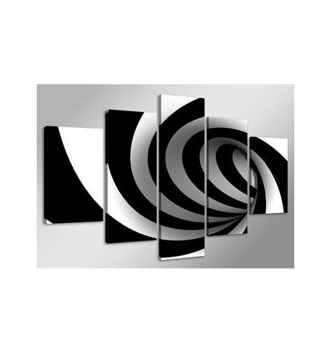 imagenes blanco y negro para cuadros cuadro abstracto espiral negro 160cm x 80 cm cuadrosya com