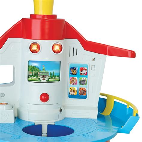 paw patrol lights and sounds spin master paw patrol my size lookout tower