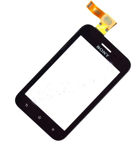 Touchscreen Sony St26 Xperia J Original pantalla tactil touch screen sony xperia tipo st21