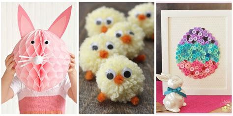 easter ideas for kids 40 easter crafts for kids fun diy ideas for kid friendly