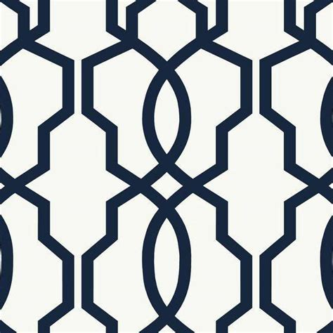 Navy Blue Dining Room by Navy Blue Geometric Wallpaper Wallpapersafari