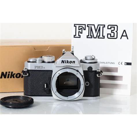 nikon fm3a kamera in chrom mit ovp eur 899 00 picclick de