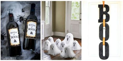 halloween home decor 40 easy diy halloween decorations homemade do it