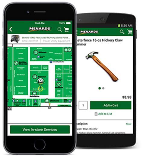 menards 174 mobile app at menards 174
