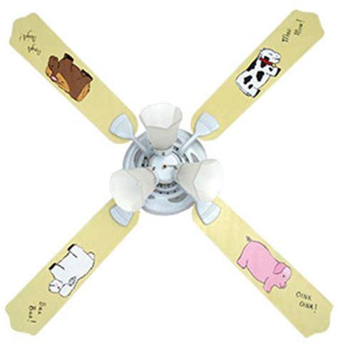 Baby Nursery Ceiling Fans by Farm Babies Nursery Room Ceiling Fan With Lights