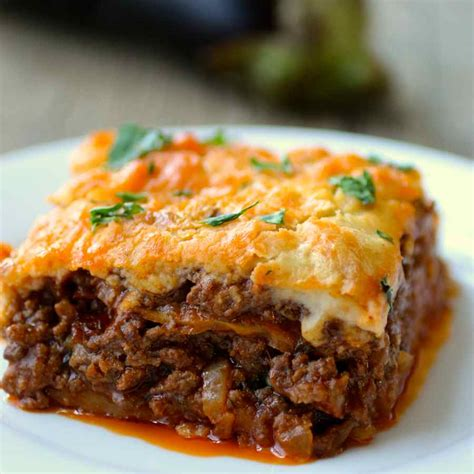moussaka traditional greek recipe 196 flavors