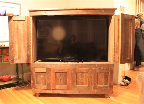 flat screen tv armoire with doors armoire recomended flat screen tv armoire for home rustic by cd lumberjocks