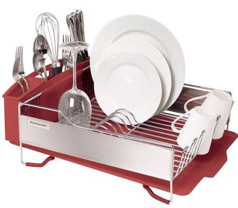 kitchenaid dish drying rack 3 or black stainless