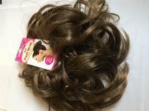 hair bun pieces brown images
