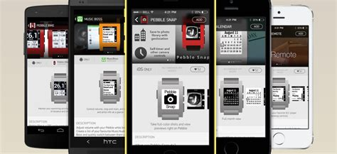 pebble smartwatch best apps pebble appstore is slated to launch early 2014