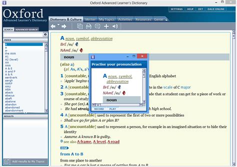 cambridge english pronouncing dictionary free download full version oxford dictionary advanced learner latest edition free