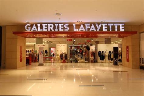 French Modern Interior Design Inside The Dubai Mall Picture Of Galeries Lafayette