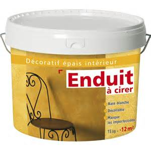 enduit d 233 coratif 224 cirer les decoratives blanc 15 kg