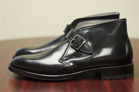george boots alden black shell cordovan george boot alden of san diego