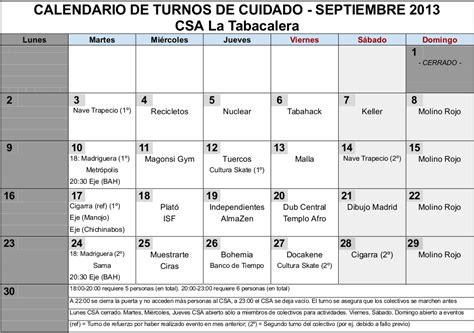 Calendario 5 Turnos Acerinox Calendario 4 Turnos Elbuencalendario Es