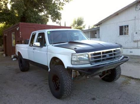 ford baja truck 90s ford baja prerunner with cool hood off road
