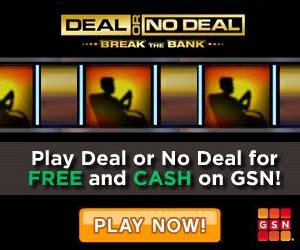 Gsn Sweepstakes - play games for free and earn prizes at gsn thrifty jinxy