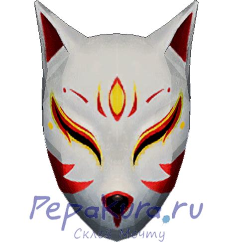 Kitsune Mask Papercraft - kitsune mask papercraft 28 images kitsune mask by