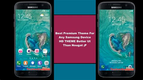 hd themes for samsung e5 top samsung hd theme 3 better than nougat youtube