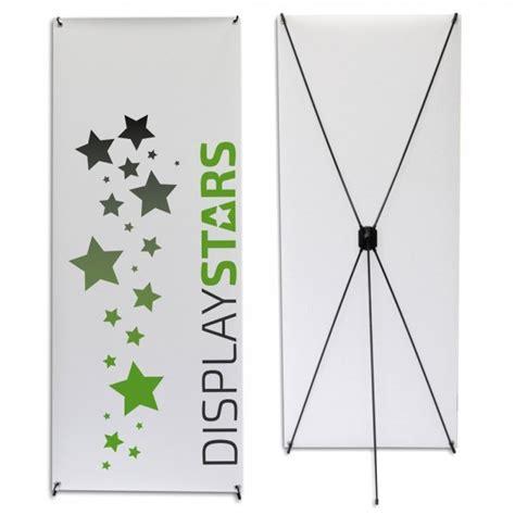 plakat gestell deluxe x banner g 252 nstig drucken lassen displaystars