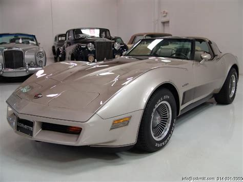 1982 corvette 30th anniversary collector s edition
