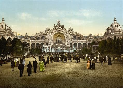 belle epoque file le chateau d eau and plaza exposition universal