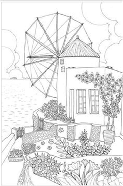 colouring buildings houses cityscapes landmarks on coloring pages coloring