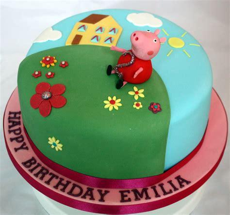 peppa pug cake cakes 187 9 13 187 vanilla bean cake company