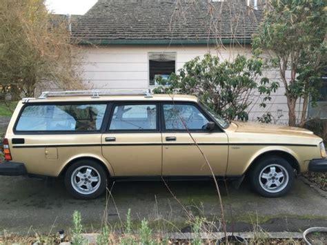 volvo glt turbo wagon  manual transmission xxx original miles  sale