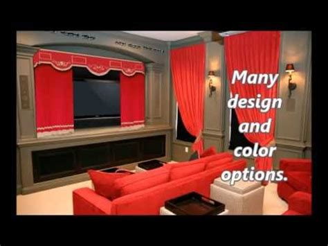 velvet home theater curtains velvet home theater curtains preview youtube