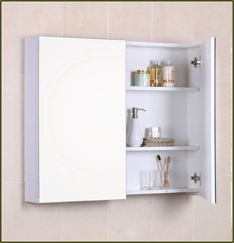 Recessed Bathroom Mirror Cabinets Medicine Cabinet Extraordinary Recessed Medicine Cabinet Without Mirror Recessed Medicine