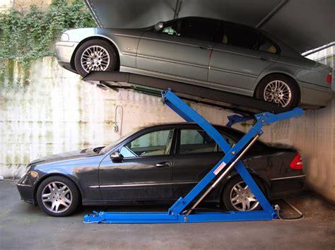 normativa box auto foto sollevatori per auto a pantografo ragno di