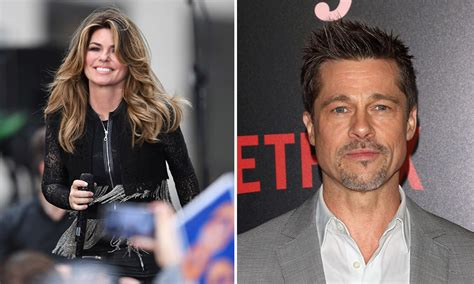 shania twain reveals why she calls out brad pitt in that don t impress me much hello canada