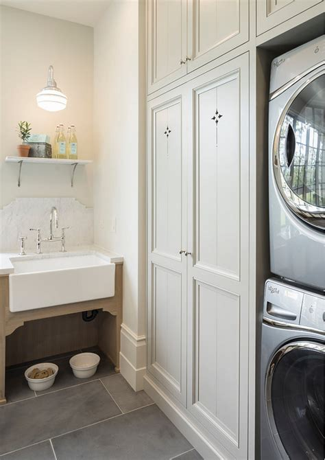 laundry room farmhouse sink family home with timeless interiors home bunch interior