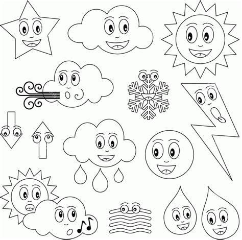 weather coloring pages for toddlers weather coloring pages preschool coloring home