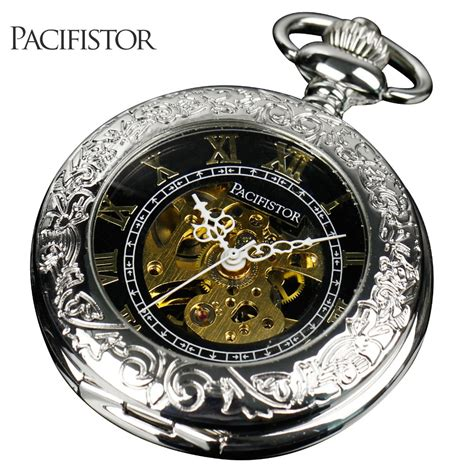 pacifistor mens pocket watches vintage reloj bolsillo
