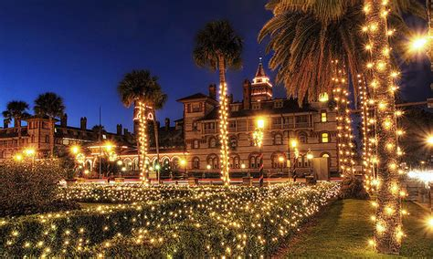 7 ways to see nights of lights st augustine fl