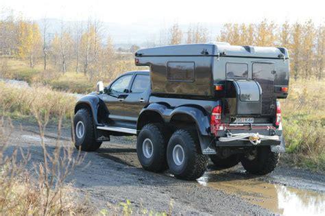 arctic trucks hilux   expedition vehicle
