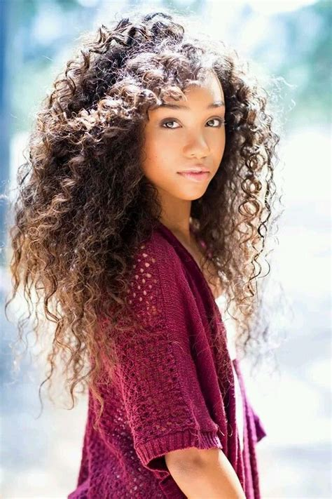 how to curl curls on a side ethnic hair curly beauty photo hair pinterest beauty photos