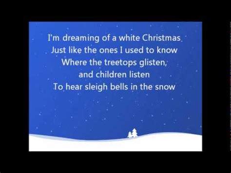 white testo inglese white crosby lyrics