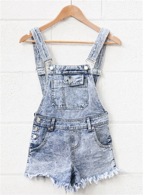 Ripped Overall Sy T2909 1 clothing we denim dungarees