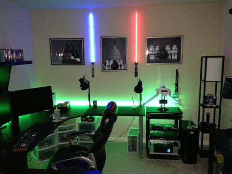 Cool Gaming Bedrooms by Cool Computer Setups And Gaming Setups