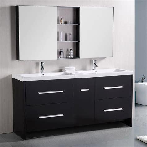 donovan 72 quot sink vanity set zuri furniture