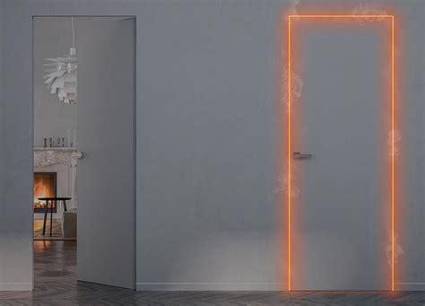 porte interne a filo muro raso parete dwg