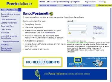 poste banco posta bancoposta istituti bancari come usare