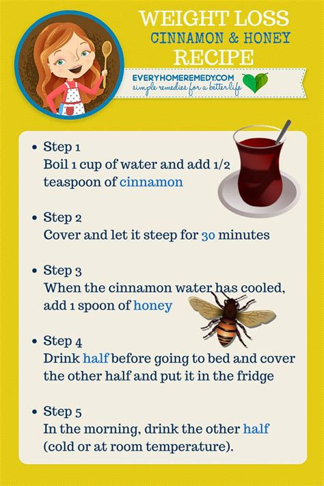 Cinnamon And Honey Detox by Cinnamon And Honey For Weight Loss Recipe Weight
