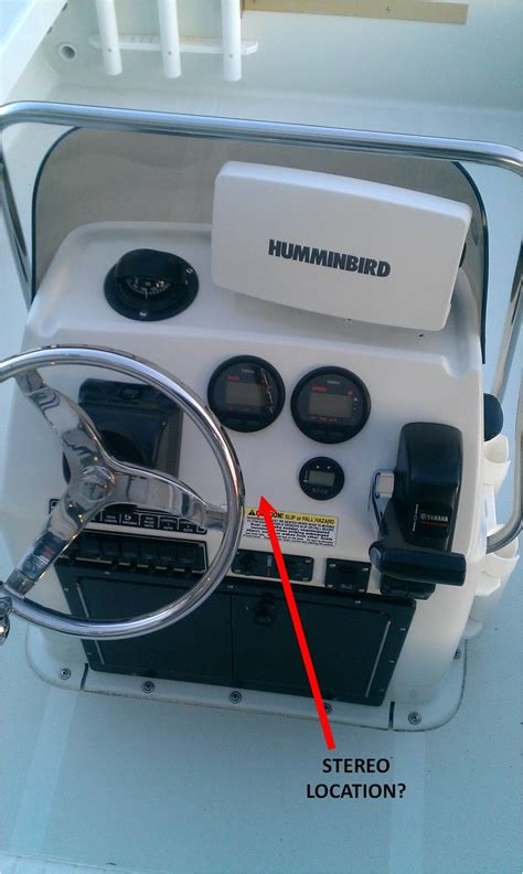 flats boat stereo speaker install advice suggestions - Flats Boat Stereo