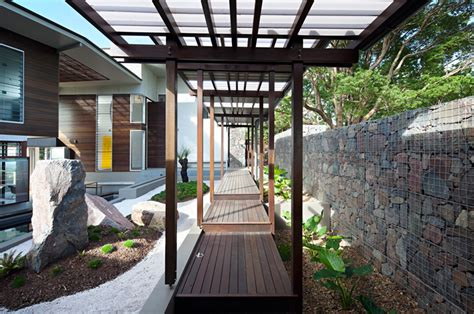 Eichler Architecture by Glass House Mountain House By Bark Design In Maleny Australia