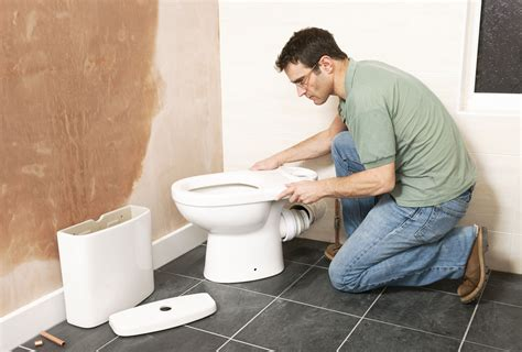 how to install plumbing how to move a toilet minimize cost and mess